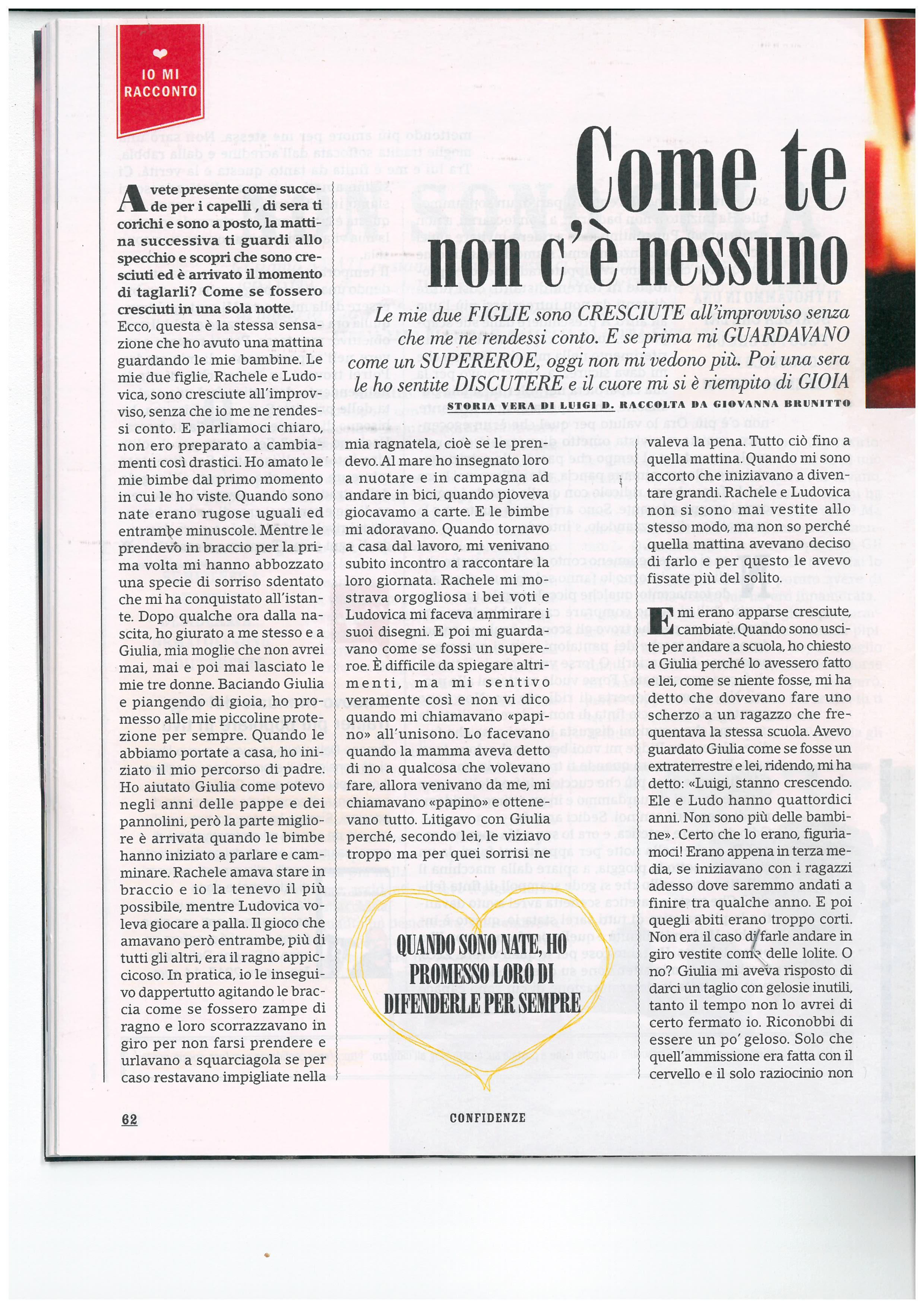 Storia di Luigi - Confidenze nr. 17 . Aprile 2017_Pagina_1