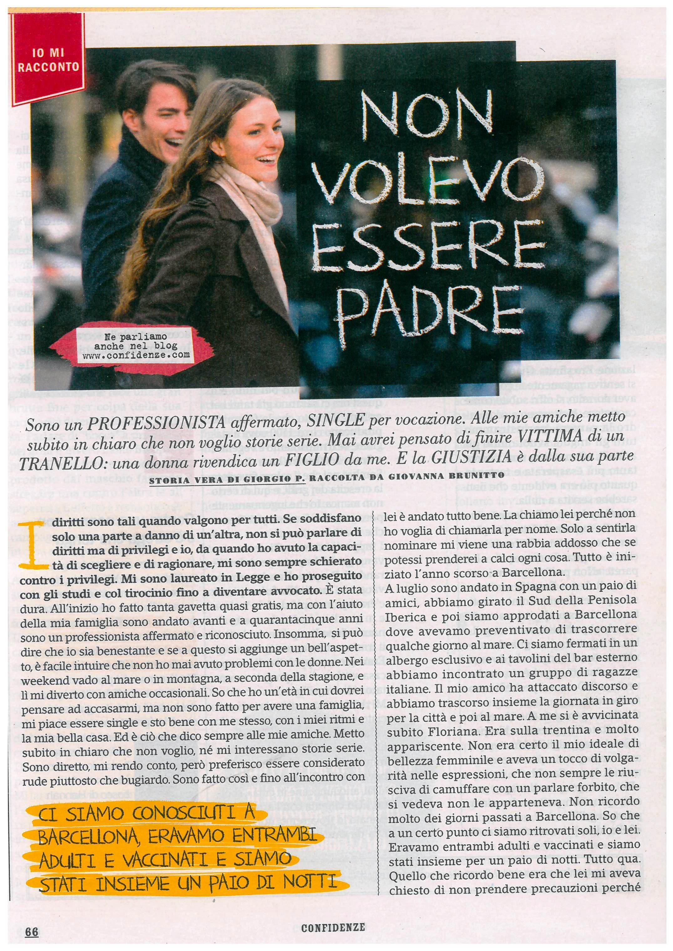Storia di Giorgio - Confidenze nr. 43 Ottobre 2017_Pagina_1