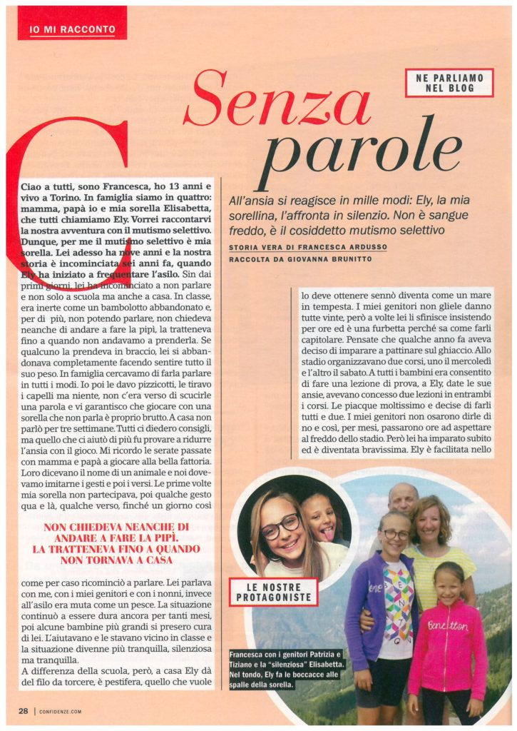 Storia di Ely raccontanta da Francesca - Confidenze nr. 2 2019_Pagina_1