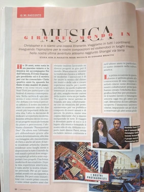 6 - Storia Nico e Chris - pag. 1 nr. 22 Maggio 2020